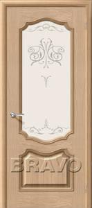 Двери шпонированные Прима патина слоновая кость