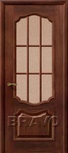 Двери шпонированные Премьера патина голд - бронза