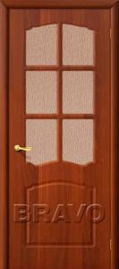 Двери ПВХ Альфа итальянский орех