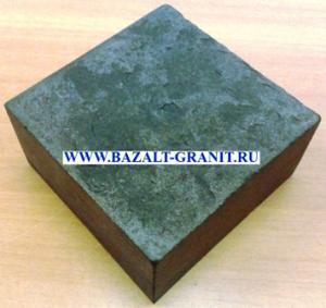 Брусчатка базальтовая полнопиленная 10х10х5 т/о