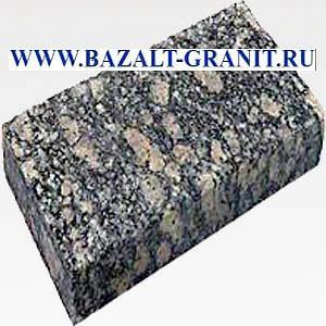 Брусчатка из гранита Корнинского за 2075 руб/м2