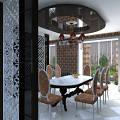 Фото 3: Дизайн интерьера квартиры в стиле арт-деко