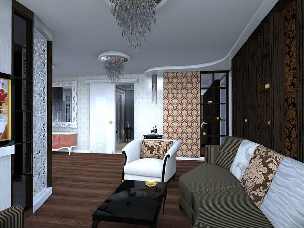 Дизайн интерьера 3 в фото