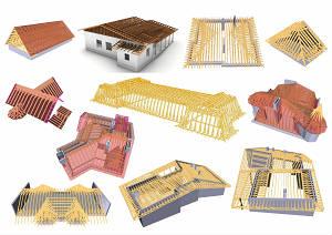 Проектирование и производство стропильной системы