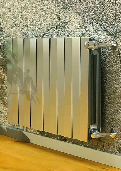 Фото Дизайн-радиаторы ROYAL THERMO PIANOFORTE Silver Satin