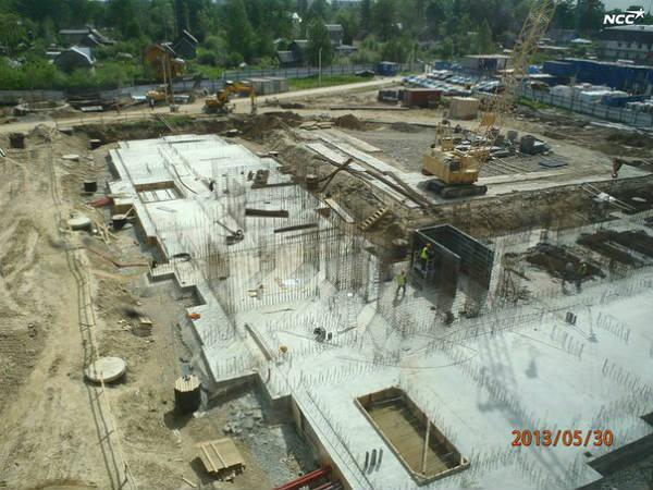 """Фото Третья очередь ЖК """"Эланд"""" (30.05.2013), ход строительства"""