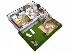 Альтернатива таунхаусам – малоэтажный жилой квартал Gröna Lund от NCC