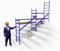 ООО «ПК-Сервис» - Хб перчатки, изготавливаем алюминиевые конструкции по чертежам, лестницы и стремянки, вышки-туры и леса.