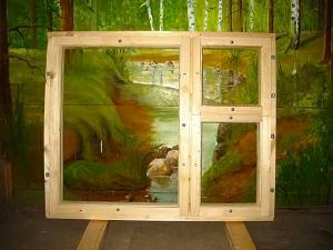 Деревянные оконные блоки марок ОС, ОР, ОРУ, террасные рамы