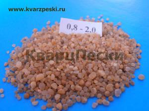 Кварцевый песок для пескоструйки (пескоструя) фракционированный сухой