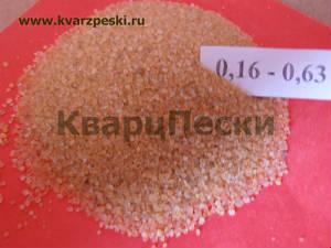 Кварцевый песок фракция 0,1-0,63