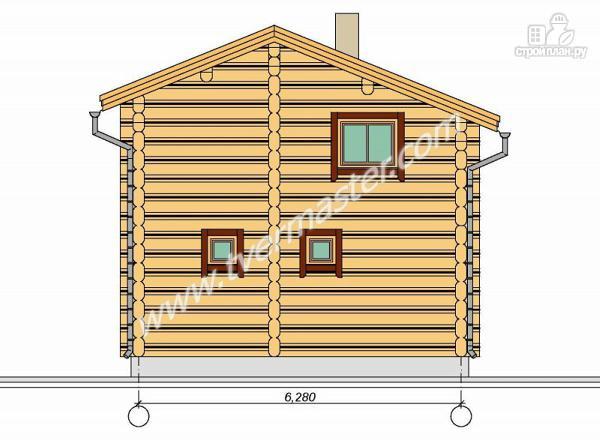 Фото 5: проект двухэтажный дом-баня