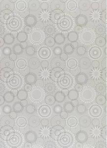 Декоративное стекло Гласспан Glasspan DG 150 Алмазный круг Серебро