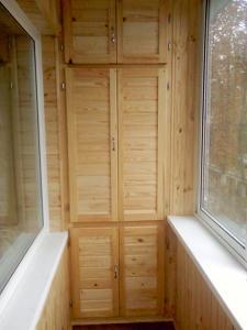 Шкафы на балконы и лоджии