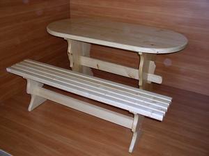 Наборы мебели для бани