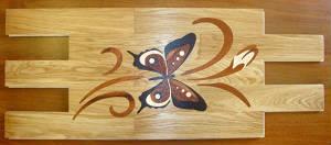 Декоративные элементы Декоративные вставки (Бабочка)