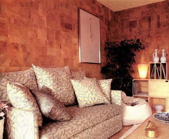 Фото Покрытия для стен пробка