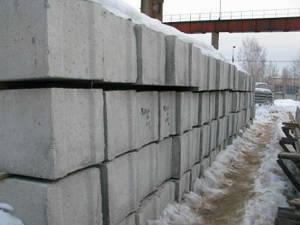 Фундаментные блоки ФБС 24-4-6