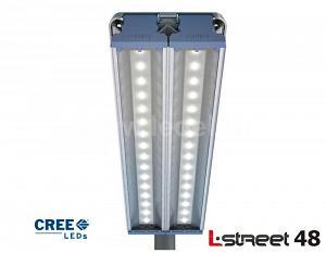 Светодиодный уличный светильник L-street 48