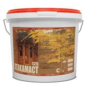 Акриловый герметик для деревянного дома, для дерева Атакамаст 125