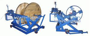 Станок (устройство) для намотки кабеля УПК-12ПРГК с РКУ