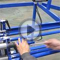 Видео Станок для намотки кабеля на барабаны УПК 25РЧ002 с РКУ