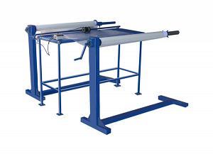 Устройство (станок) для перемотки/отмотки рулонных материалов (пленки ПВХ, ткани) УПРМ-130