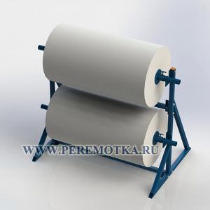 Стойка для размотки рулонных материалов