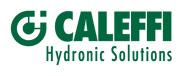 Caleffi - запорно-регулирующая арматура для систем отопления и водоснабжения