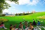 Парк в центре Москвы будет выполнен по проекту архитектурного бюро из Нью-Йорка
