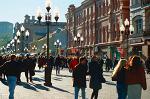 В 2014 году ещё пять московских улиц станут пешеходными