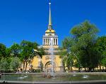 Реконструкция здания Адмиралтейства в Петербурге будет завершена к концу 2016 года